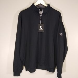 🆕 Footjoy 1/2 Zip Performance Pull Over Black L